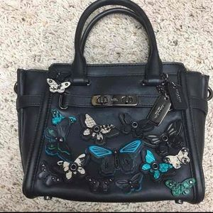 AUTHENTIC COACH MINI BUTTERFLY BAG